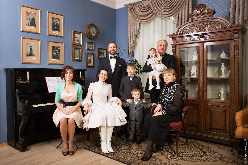 Семейные  в интерьере