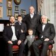 Семейная фотосессия Иркутск. Мужчины в сборе