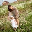 Семейная фотосессия Иркутск. Мама с дочкой