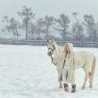 Фотосессия на природе зимой. Иркутск.