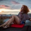 Фотосессия на крыше Иркутск. Фотограф Куренков Д.В.
