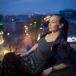 Фотосессия на крыше. Фотограф Куренков Д.